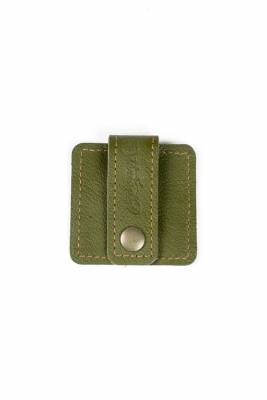 leather cord organizer olive
