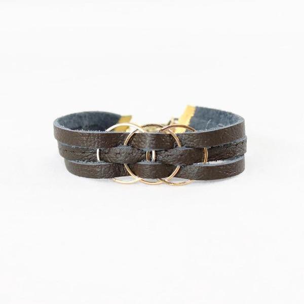 eternity bracelet brown