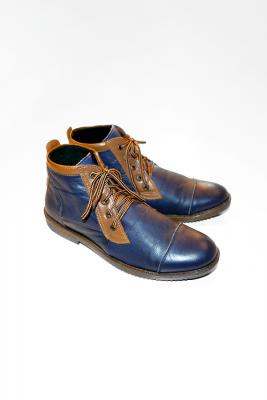 riser color block dress shoes