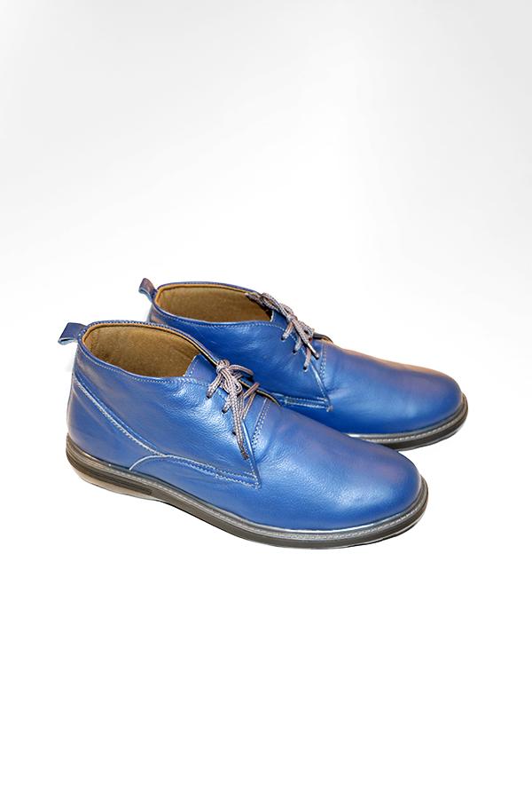 high riser blue dress shoes